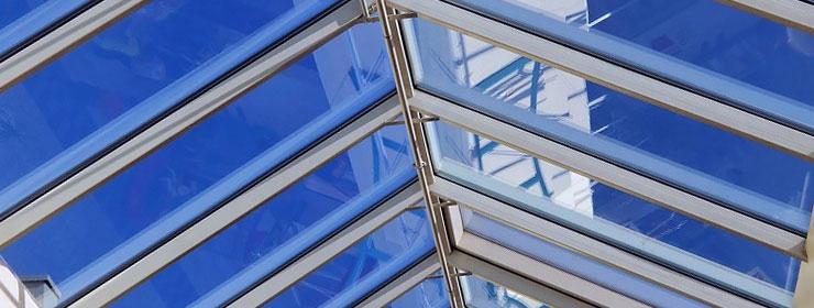 De voordelen van een glazen dak - Glazen dak dak glijdende ...
