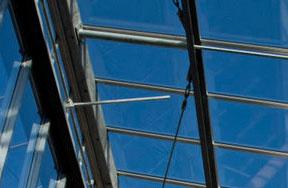 glazen dak isolatie